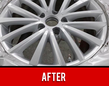 Wheel Rim Repaired After