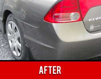 Bumper Repaired After