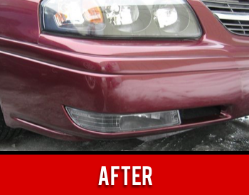 Headlight Repaired After