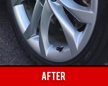 Wheel Scratch Repaired After