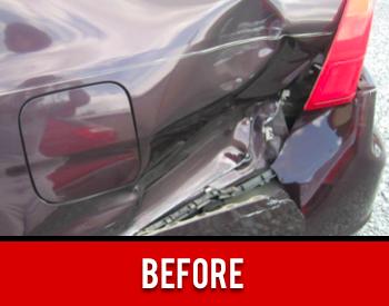 Auto Body Damage Before